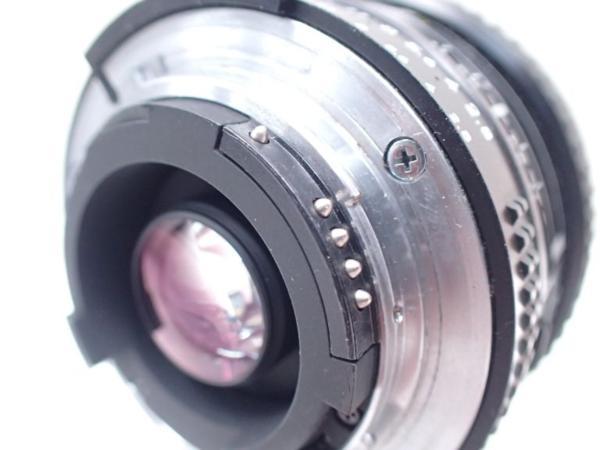 Nikon ニコン AF NIKKOR 20mm F2.8 元箱付 □ 4E1DA-3_画像5