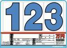 【即決】お試しプライスSK-34(ボード5枚、数字15枚)S